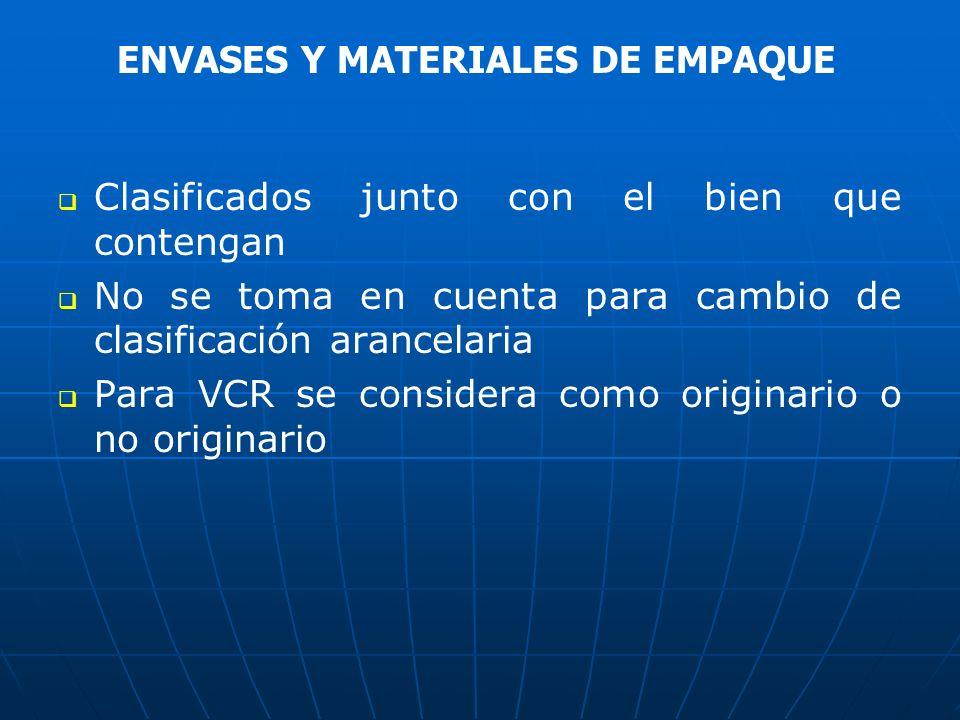 ENVASES Y MATERIALES DE EMPAQUE