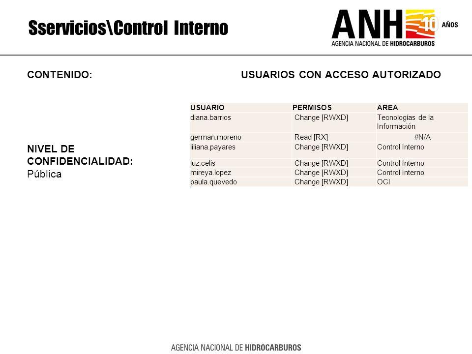 Sservicios\Control Interno