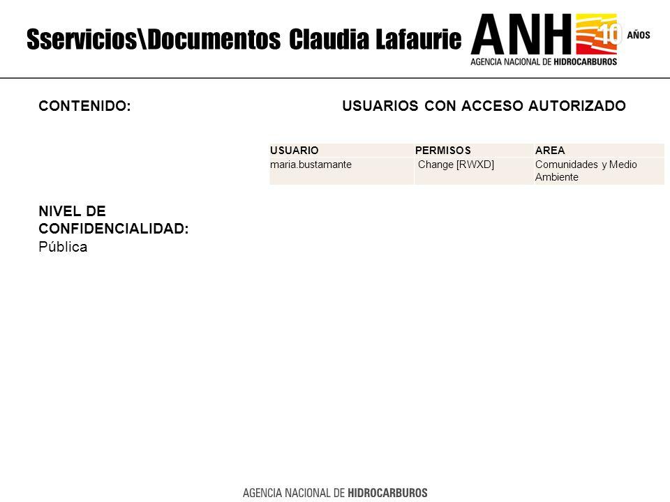 Sservicios\Documentos Claudia Lafaurie