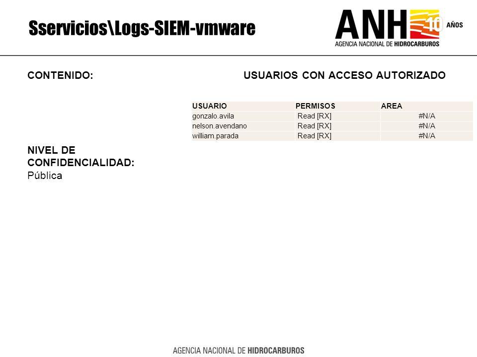 Sservicios\Logs-SIEM-vmware