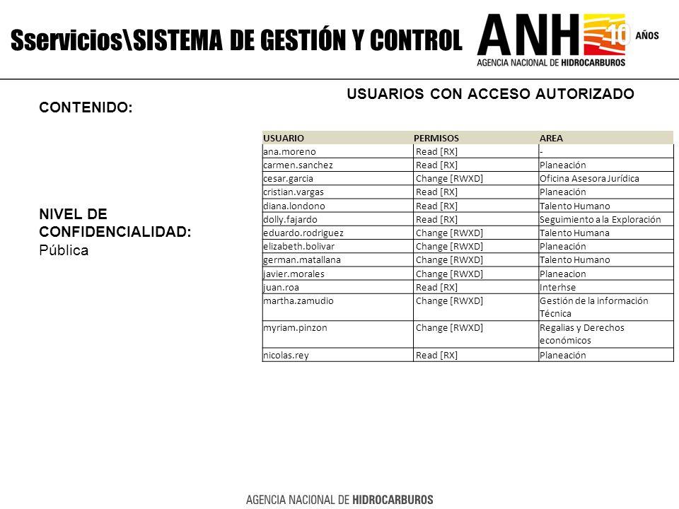 Sservicios\SISTEMA DE GESTIÓN Y CONTROL