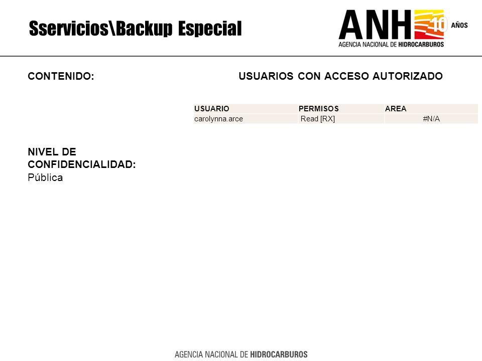 Sservicios\Backup Especial