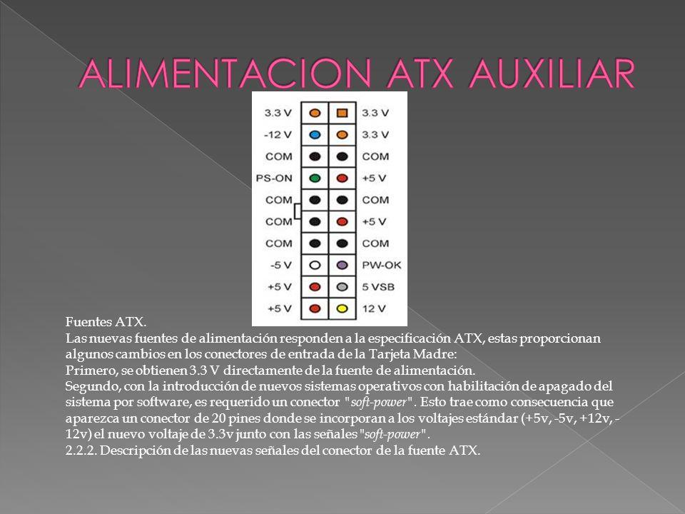 ALIMENTACION ATX AUXILIAR