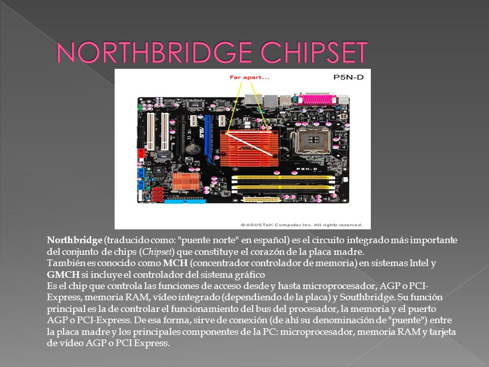 NORTHBRIDGE CHIPSET
