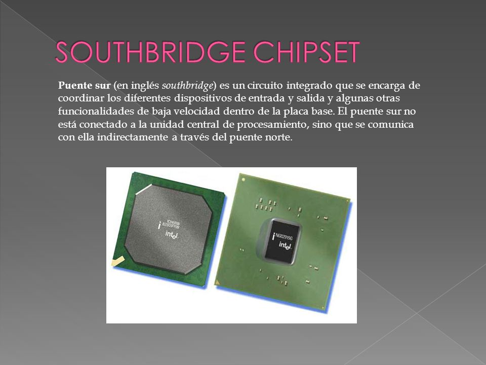 SOUTHBRIDGE CHIPSET