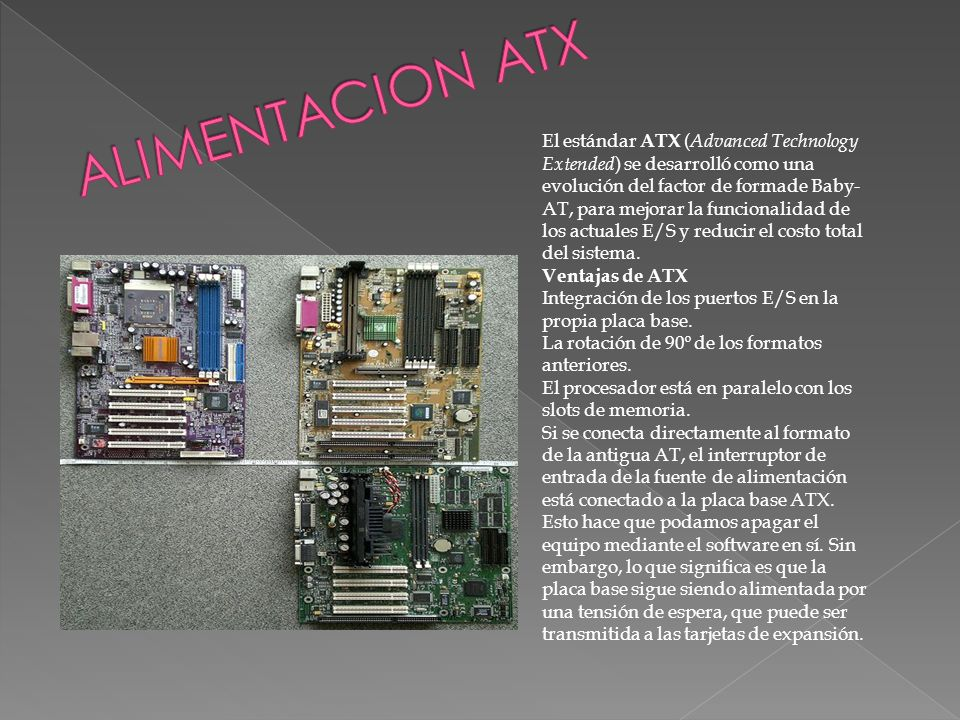 ALIMENTACION ATX