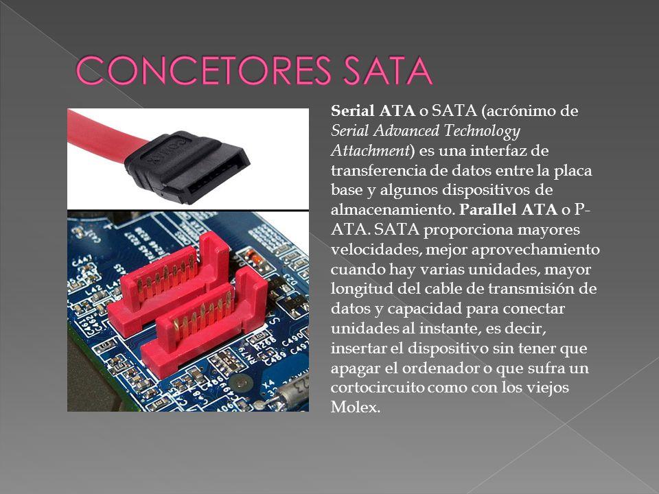 CONCETORES SATA