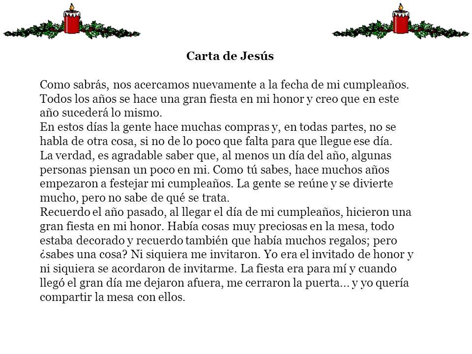 Carta de Jesús