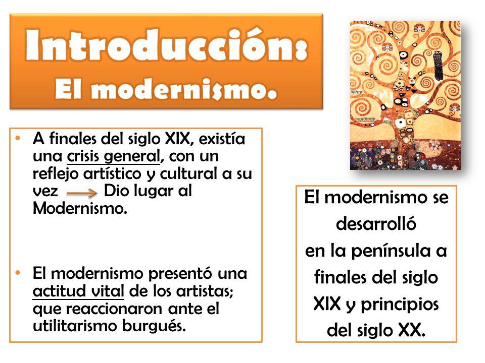 Introducción: El modernismo.
