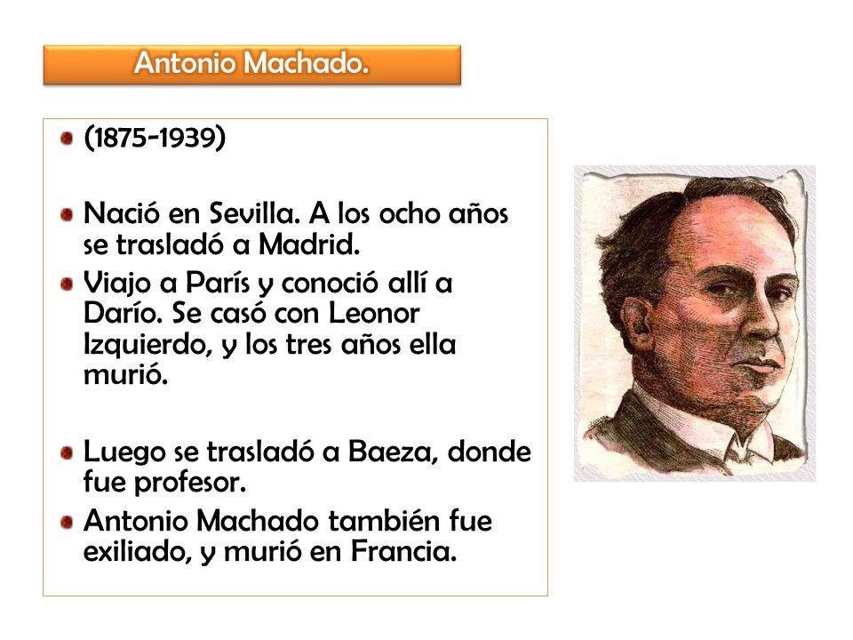 Nació en Sevilla. A los ocho años se trasladó a Madrid.