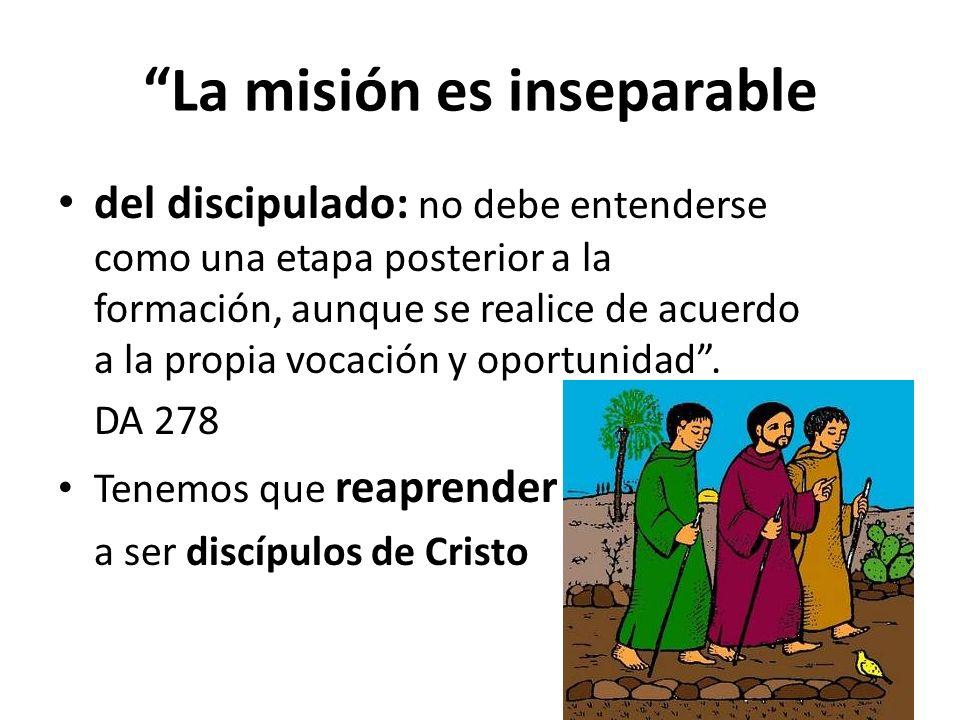 La misión es inseparable