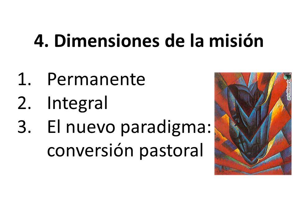 4. Dimensiones de la misión