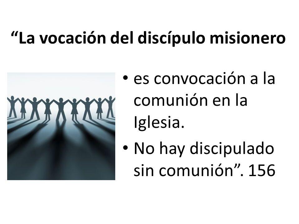 La vocación del discípulo misionero