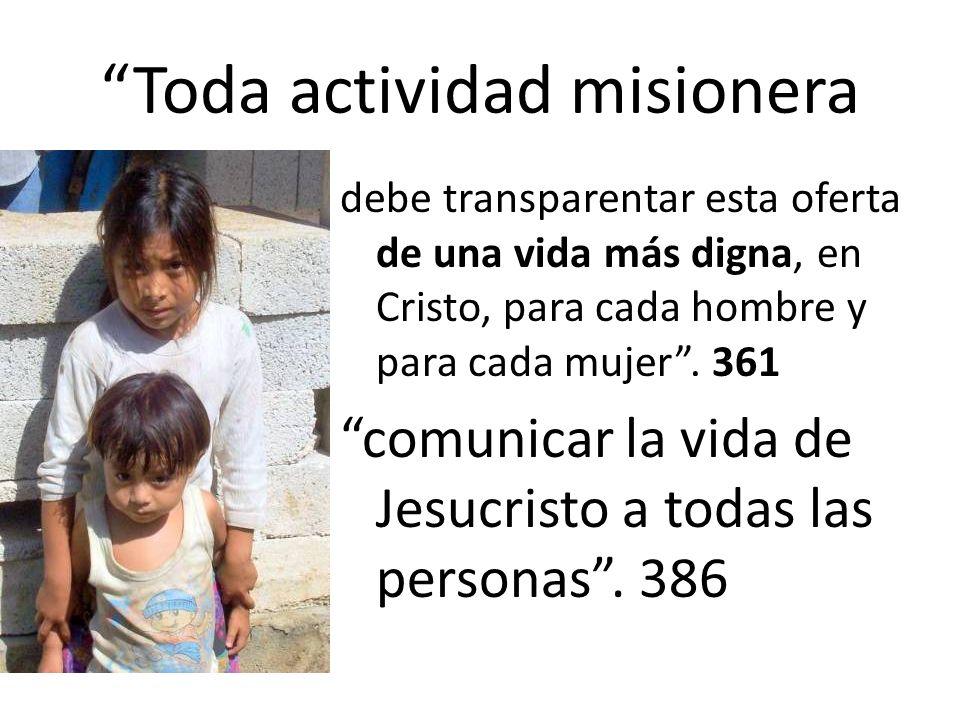 Toda actividad misionera