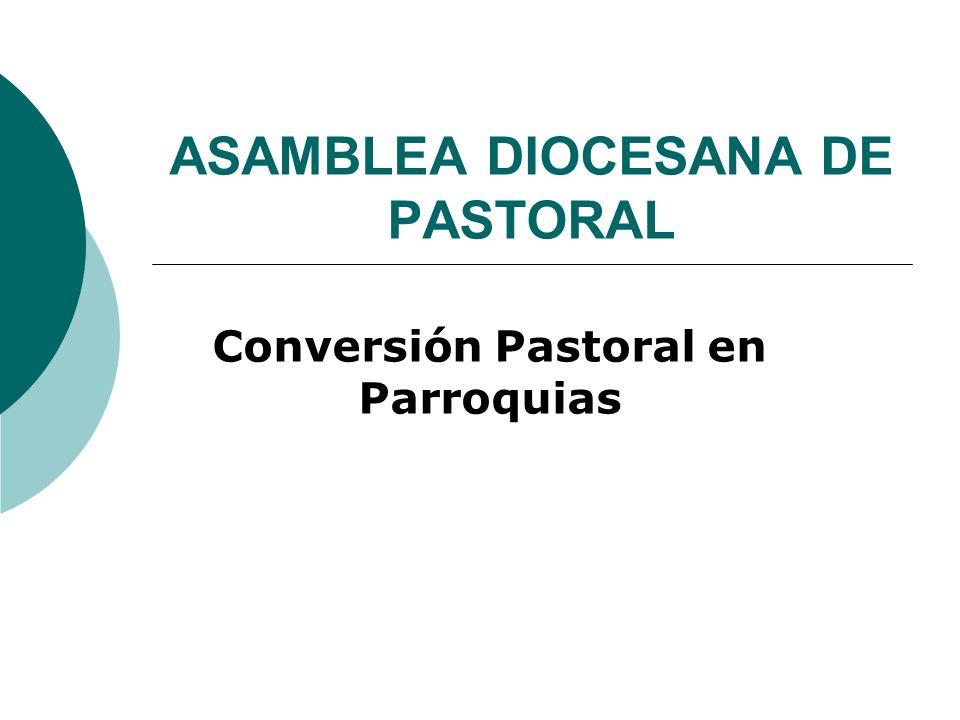 ASAMBLEA DIOCESANA DE PASTORAL