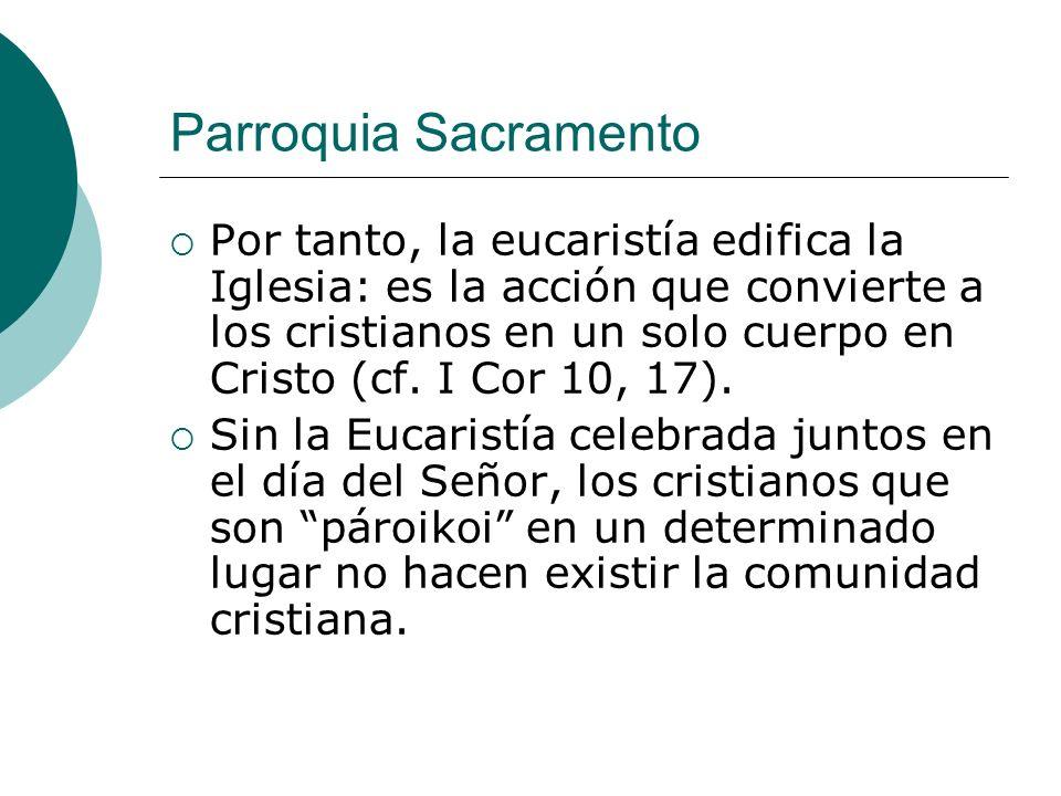 Parroquia Sacramento