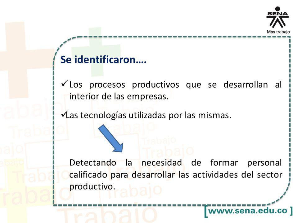 II. Denominación Diseño Se identificaron….