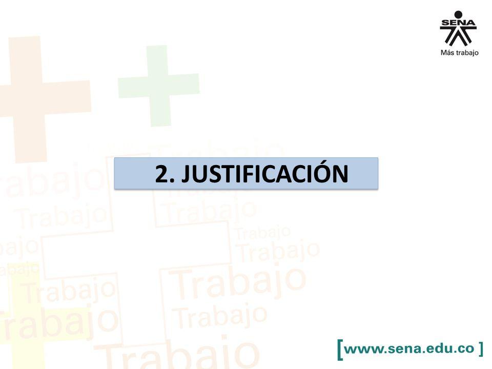 2. JUSTIFICACIÓN