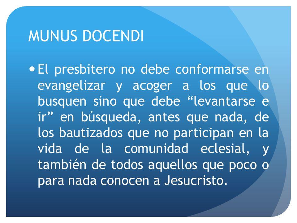 MUNUS DOCENDI