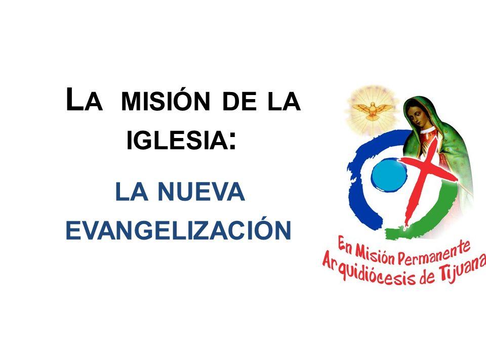 La misión de la iglesia: