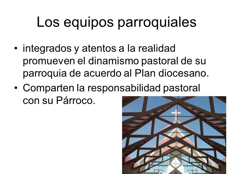 Los equipos parroquiales