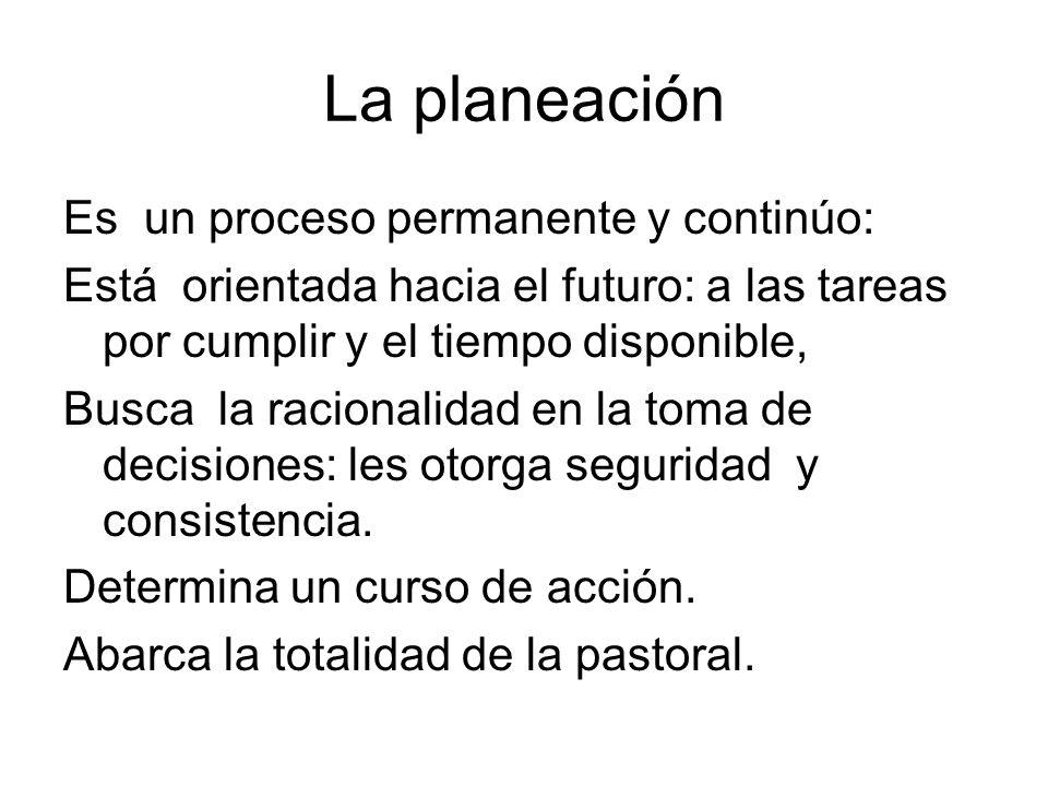 La planeación
