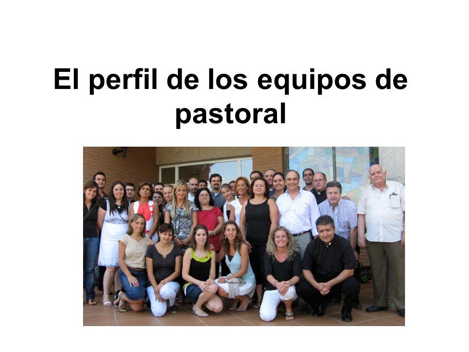 El perfil de los equipos de pastoral