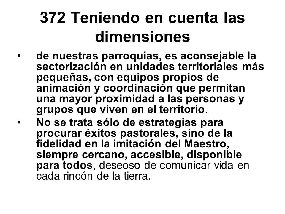 372 Teniendo en cuenta las dimensiones
