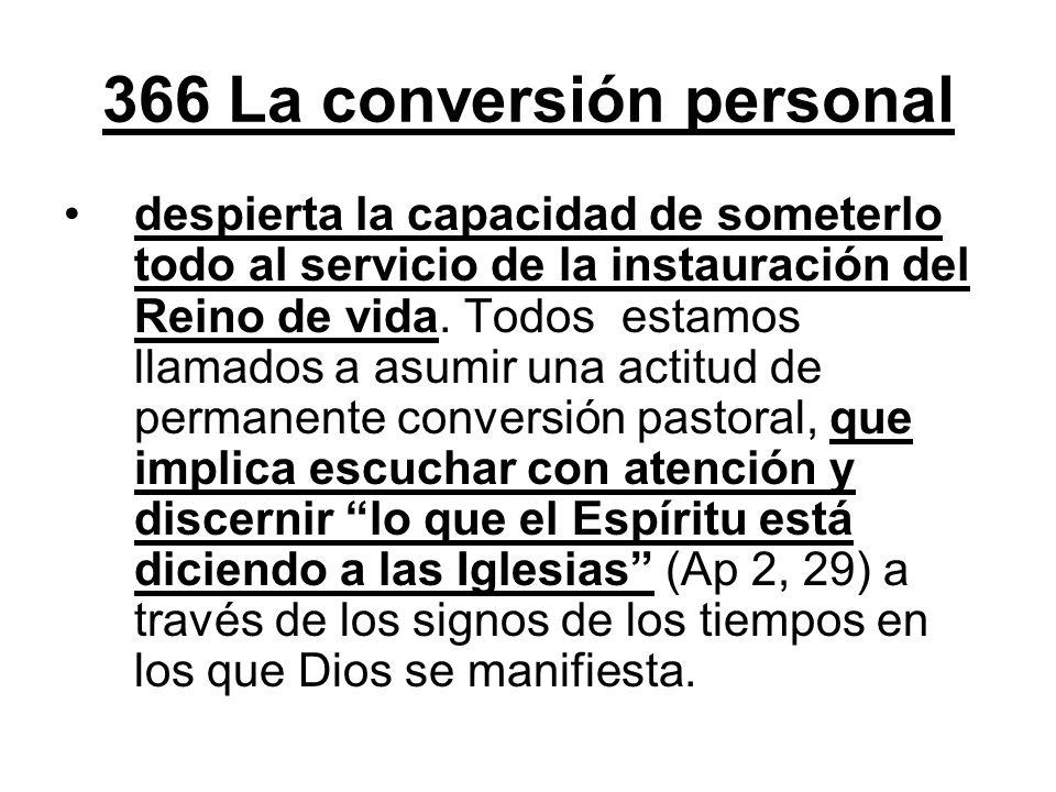 366 La conversión personal