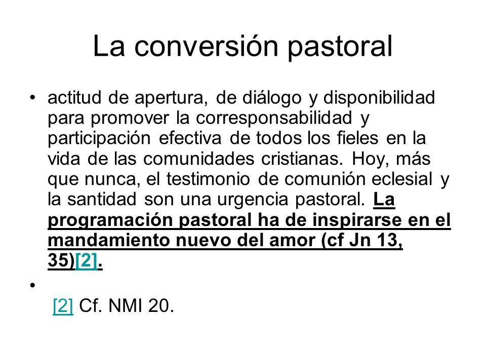La conversión pastoral