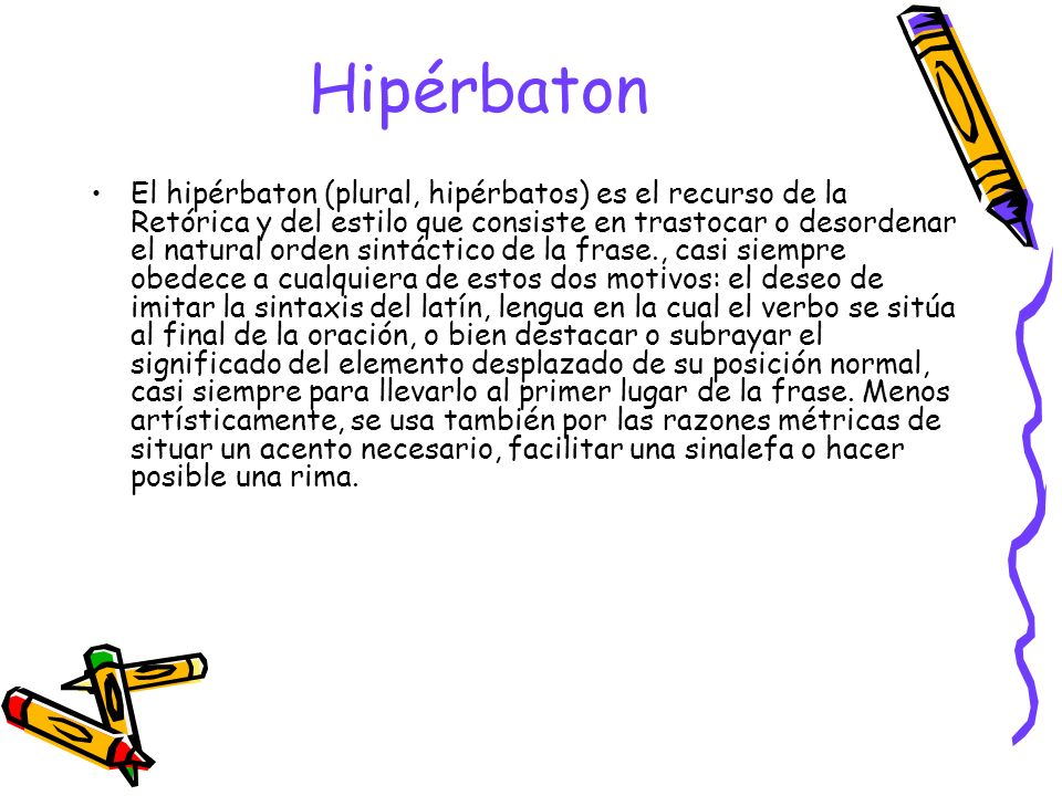 Hipérbaton