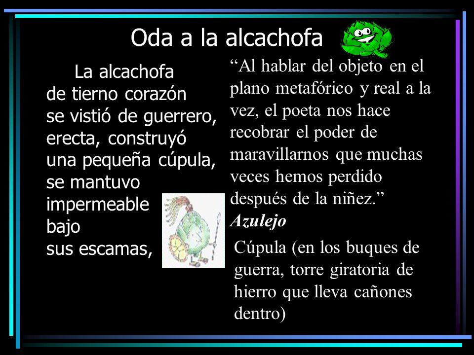 Oda a la alcachofa