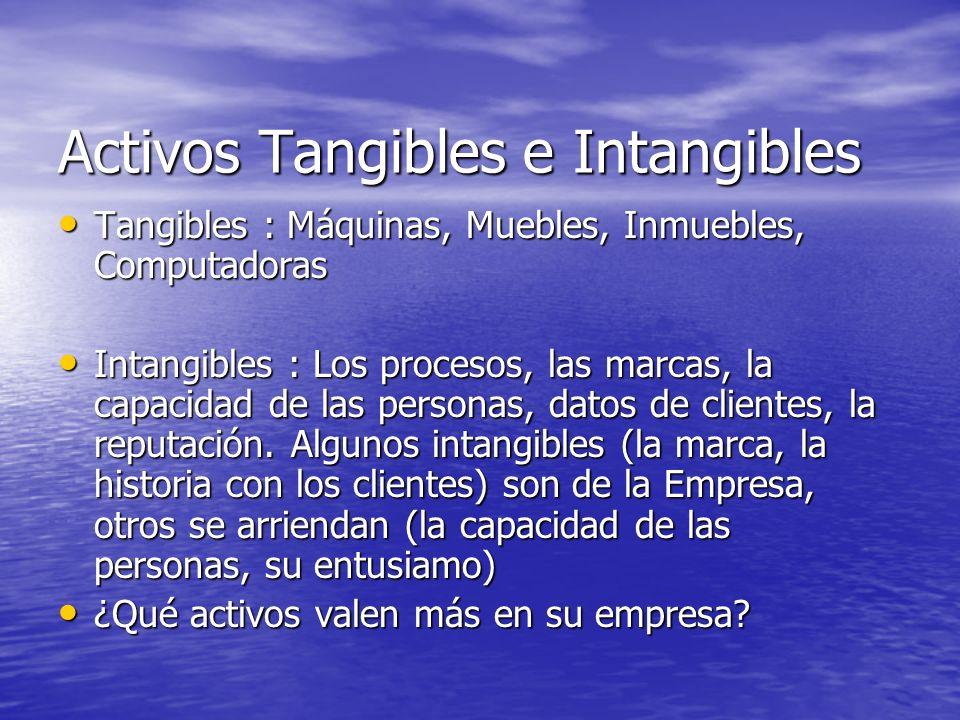 Activos Tangibles e Intangibles