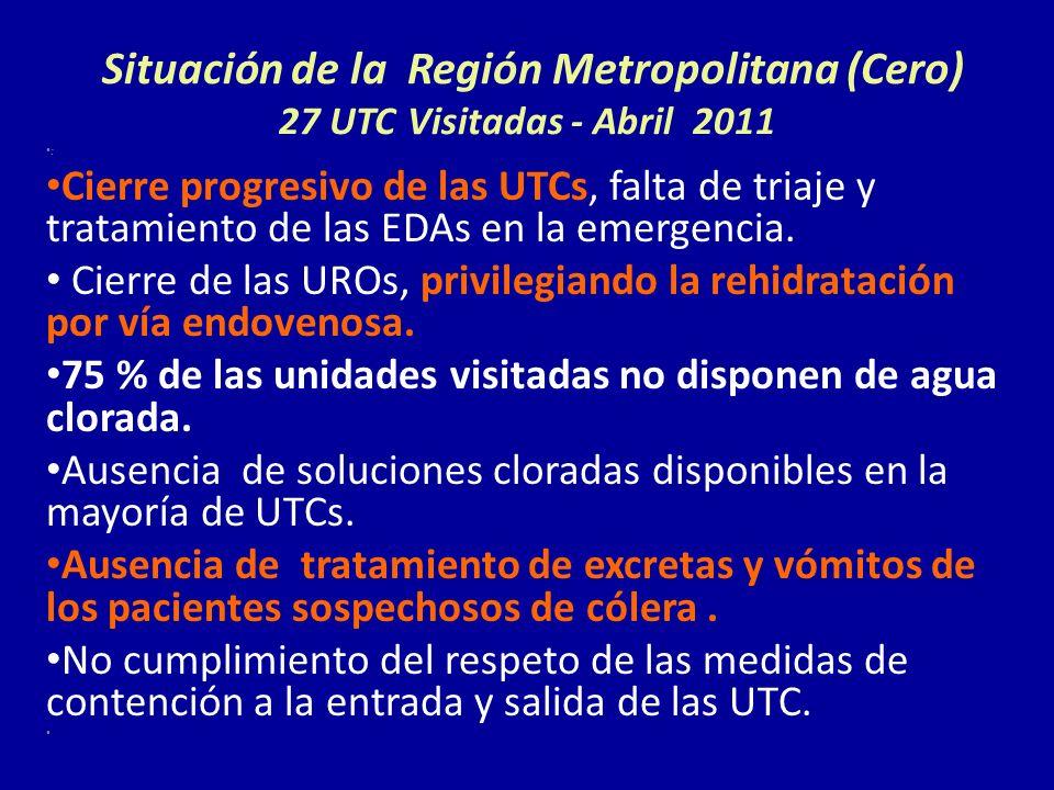 Situación de la Región Metropolitana (Cero) 27 UTC Visitadas - Abril 2011