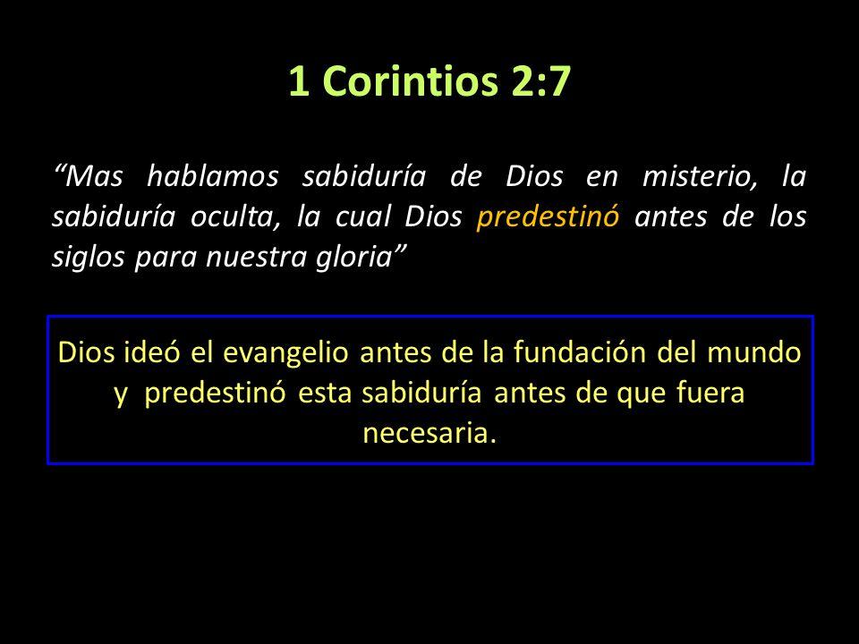 1 Corintios 2:7
