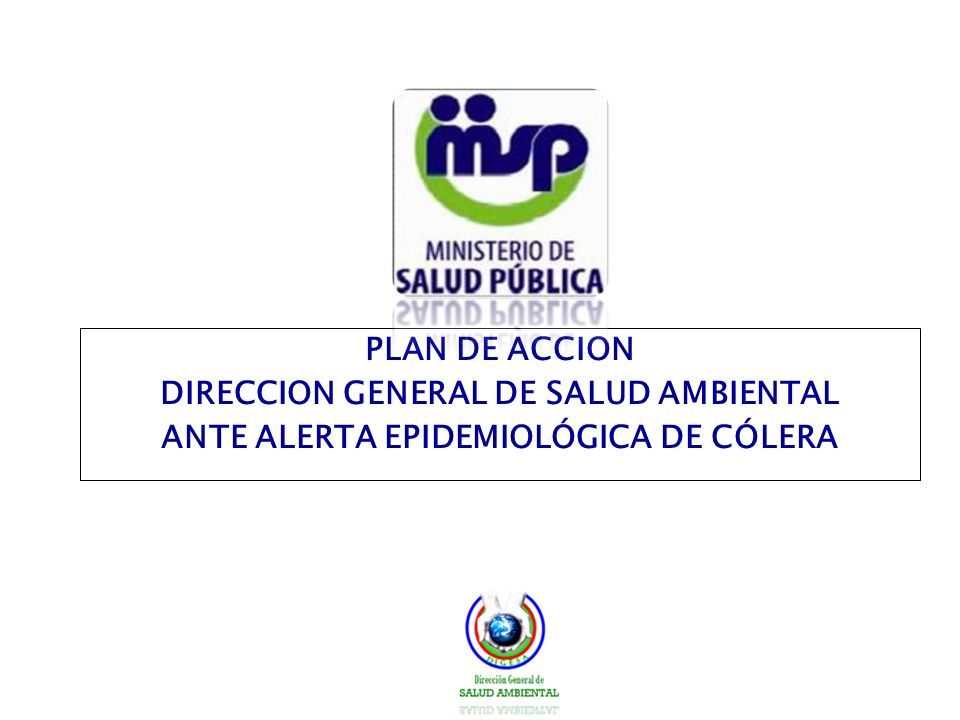 DIRECCION GENERAL DE SALUD AMBIENTAL