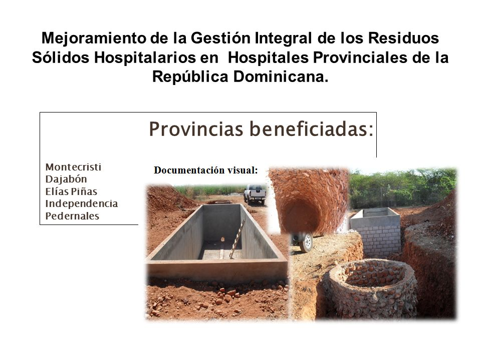 Provincias beneficiadas: