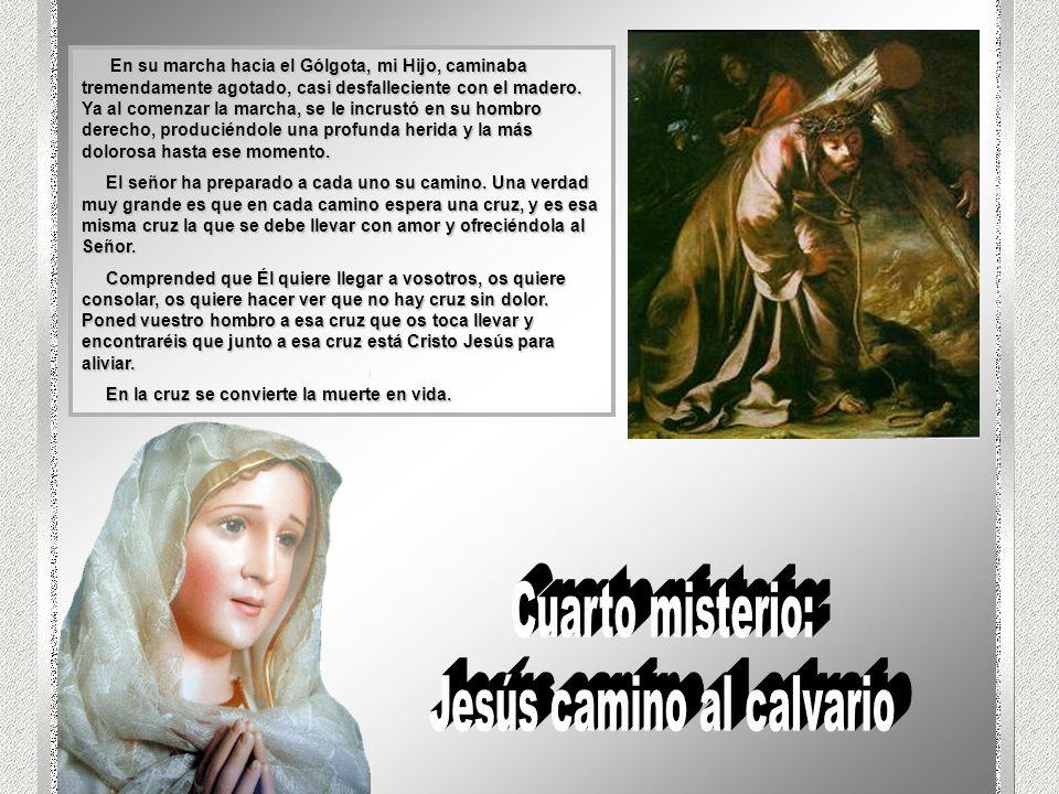 Jesús camino al calvario