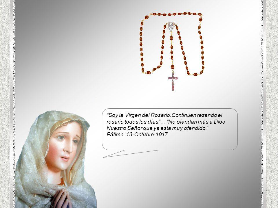 Soy la Virgen del Rosario