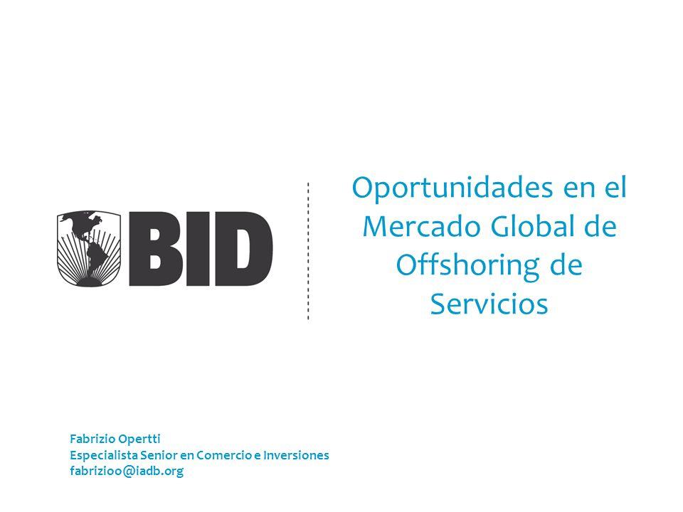 Oportunidades en el Mercado Global de Offshoring de Servicios