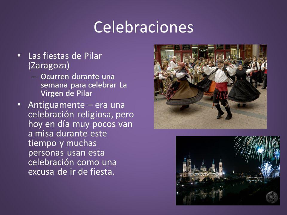 Celebraciones Las fiestas de Pilar (Zaragoza)