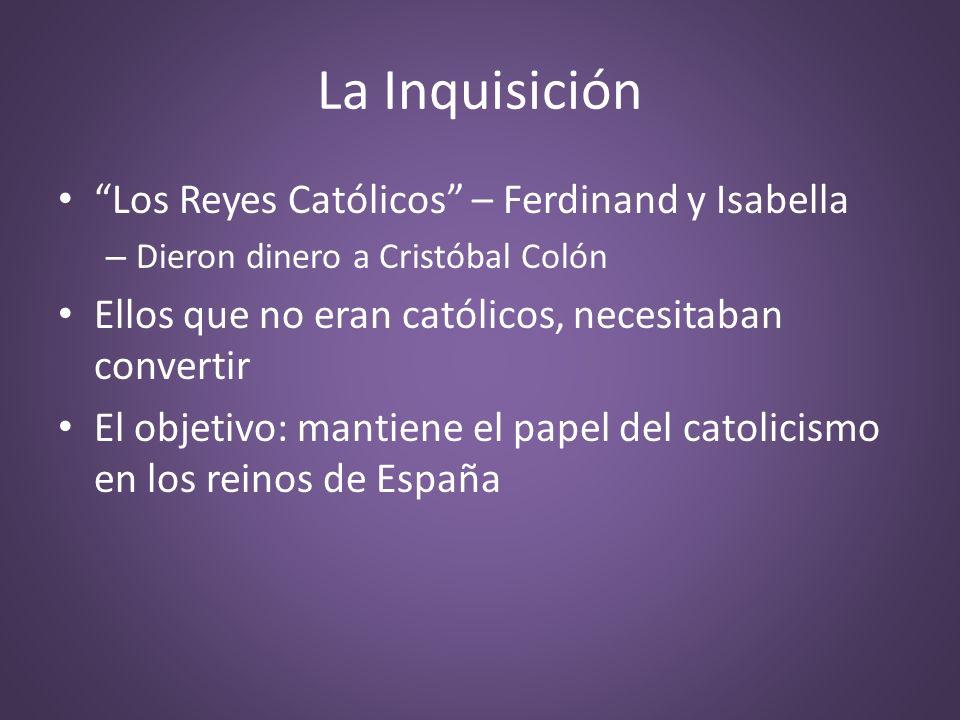 La Inquisición Los Reyes Católicos – Ferdinand y Isabella