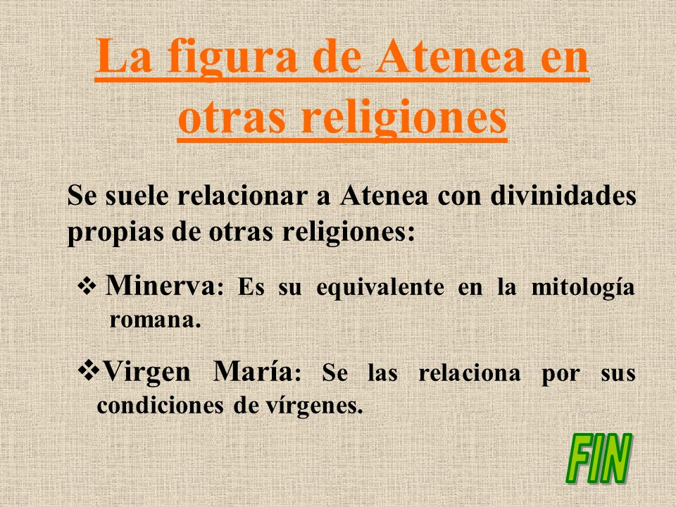 La figura de Atenea en otras religiones