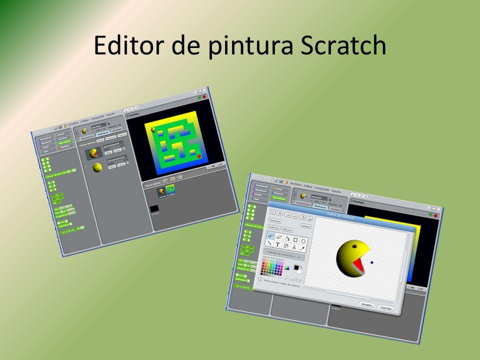 Editor de pintura Scratch