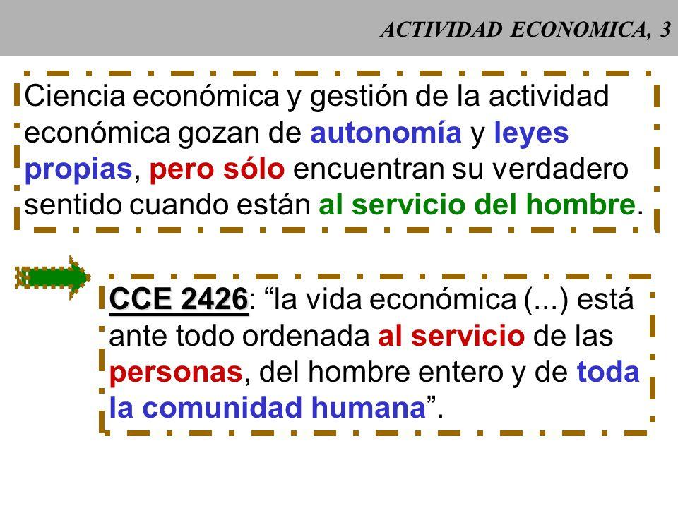 Ciencia económica y gestión de la actividad