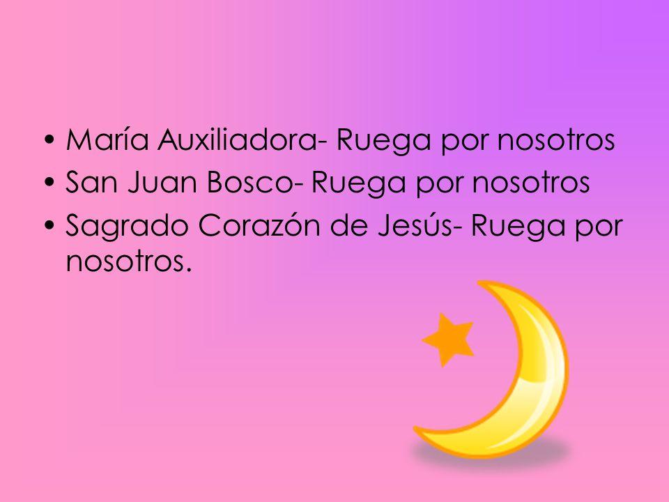 María Auxiliadora- Ruega por nosotros