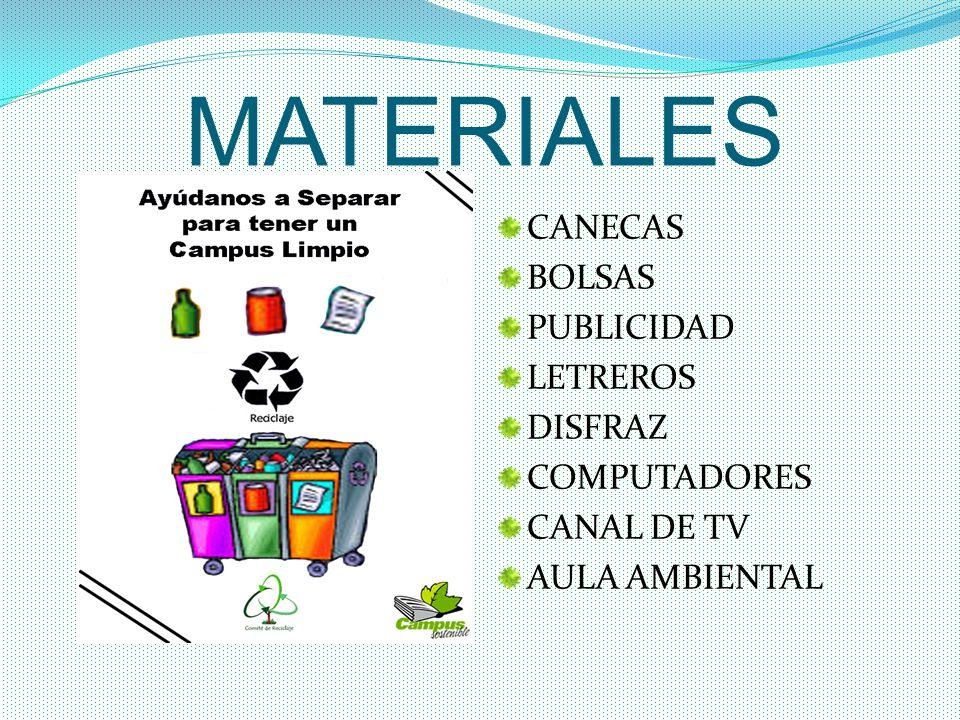 MATERIALES CANECAS BOLSAS PUBLICIDAD LETREROS DISFRAZ COMPUTADORES