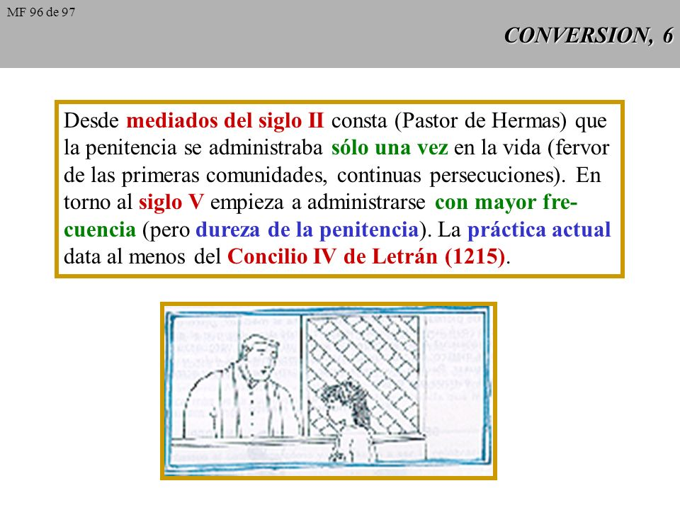 Desde mediados del siglo II consta (Pastor de Hermas) que