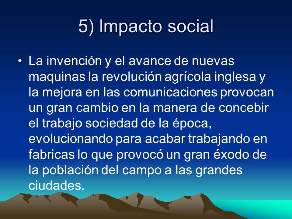 5) Impacto social
