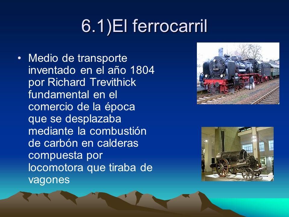 6.1)El ferrocarril